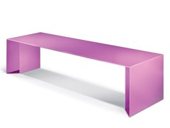 - Galvanized steel Bench PUNKA - LAB23