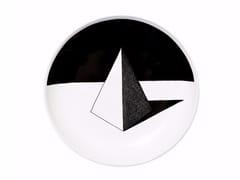 - Ceramic dinner plate PYRAMID - Kiasmo