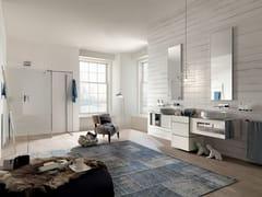 Sistema bagno componibileQAMAR - Composizione 4 - INDA®