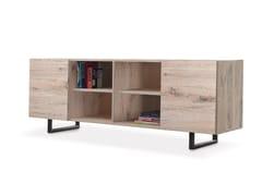- Oak sideboard with doors QUADRA | Sideboard - Oliver B.