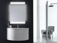- Sistema bagno componibile QUANTUM - COMPOSIZIONE 2 - Arcom