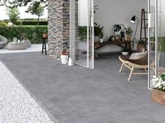 Pavimento/rivestimento effetto pietra per interni ed esterniQUARZI - CERAMICA RONDINE
