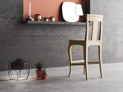 - Sedia alta in legno massello con poggiapiedi QUEEN | Sedia alta - Imperial Line