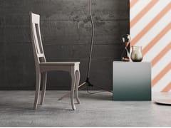 - Sedia in legno massello con schienale aperto QUEEN S - Imperial Line