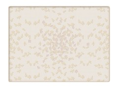 Trapunta jacquard in cotone con motivi florealiBUTTERFLY | Trapunta - SANS TABÙ