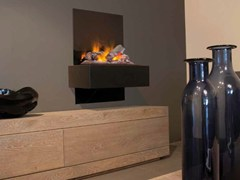 - Electric hanging fireplace QUITO SUITE - BRITISH FIRES
