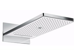 - Wall-mounted stainless steel rain shower RAINMAKER SELECT | Rain shower - HANSGROHE