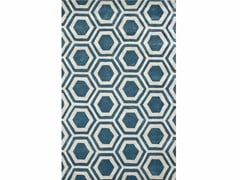 - Rug with geometric shapes RANCHO - Jaipur Rugs