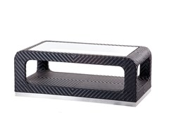 - Coffee table with storage space CRUISE | Rectangular coffee table - 7OCEANS DESIGNS