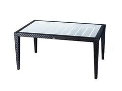 - Tavolo da giardino da pranzo rettangolare PANAMERA | Tavolo rettangolare - 7OCEANS DESIGNS