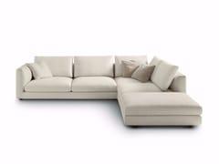 - Corner upholstered fabric sofa RENDEZ VOUS | Corner sofa - arflex