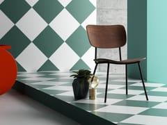 - Walnut restaurant chair RETRÒ S - Imperial Line