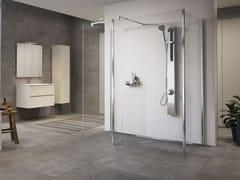 Colonna doccia a parete multifunzione in acciaio inoxREVIF - NOVELLINI