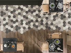 - Ecological porcelain stoneware flooring REWIND | Flooring - Ragno