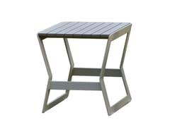 - Tavolino da giardino quadrato per contract RHONE 23165 - SKYLINE design