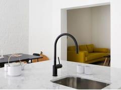 - Painted-finish stainless steel kitchen mixer tap RHYTHM RH-120 - Nivito