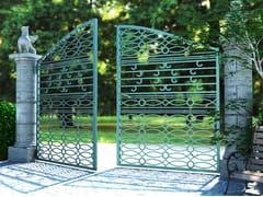 - Swing Motorized iron gate RI-CLASSICO 2677 - Fabbridea
