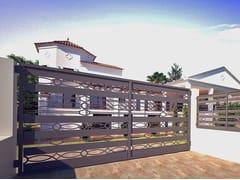 - Swing Motorized iron gate RI-CLASSICO 832 - Fabbridea