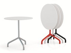 - Drop-leaf round contract table RIBALTINO | Drop-leaf table - Diemmebi