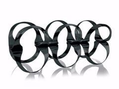 - Powder coated steel bottle rack RIBBON | Powder coated steel bottle rack - ALESSI