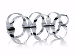 - Stainless steel bottle rack RIBBON   Stainless steel bottle rack - ALESSI