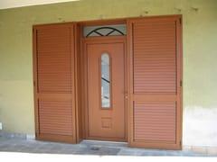 - Glass and aluminium armoured door panel RIGEL/KM1 - ROYAL PAT