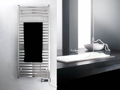 - Electric steel towel warmer RIGHT ELECTRIC PLUS - DELTACALOR