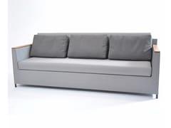 - 3 seater textilene garden sofa RIO | 3 seater sofa - FISCHER MÖBEL