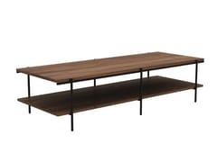 Tavolino rettangolare in noceWALNUT RISE | Tavolino - ETHNICRAFT