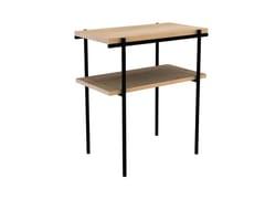 Tavolino di servizio rettangolare in rovereOAK RISE | Tavolino di servizio - ETHNICRAFT