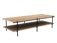 Tavolino rettangolare in rovereOAK RISE | Tavolino - ETHNICRAFT