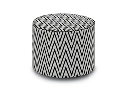 - Fabric pouf with removable lining RIVAS | Pouf - MissoniHome