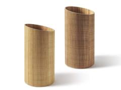 - Floorstanding wood-product umbrella stand RIVIERA | Umbrella stand - Atipico