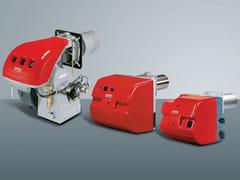 Bruciatore di gasolio monostadio o bistadioRL 34-250 - RIELLO