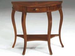 - Consolle a mezzaluna in legno massello RODI - Arvestyle