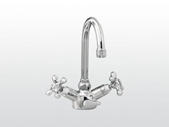 - Chrome-plated 1 hole washbasin tap ROMA | 3217 - RUBINETTERIE STELLA