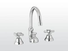 - 3 hole countertop washbasin tap ROMA | 3225TC - RUBINETTERIE STELLA