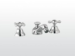 - 3 hole bidet tap with swivel spout ROMA | 3601 - RUBINETTERIE STELLA