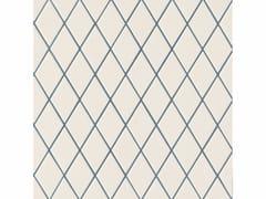 - Porcelain stoneware wall/floor tiles ROMBINI LOSANGE WHITE BLUE - MUTINA