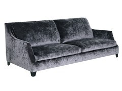 - Upholstered 3 seater velvet sofa ROSE | 3 seater sofa - SITS