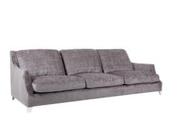 - Upholstered 4 seater velvet sofa ROSE | 4 seater sofa - SITS