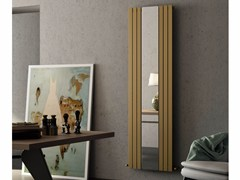 - Mirrored vertical carbon steel radiator ROSY MIRROR - CORDIVARI