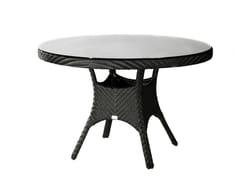 - Tavolo da giardino rotondo SALVADOR | Tavolo rotondo - 7OCEANS DESIGNS