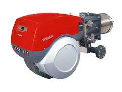 Bruciatore di gas bistadio progressivo o modulanteRS 800/EV BLU - RS 300-800/EO2 BLU - RIELLO