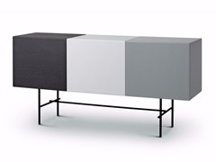 - Lacquered sideboard with doors RUBYCON | Lacquered sideboard - arflex