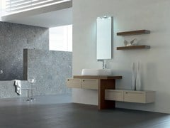 - Bathroom cabinet / vanity unit RUSH - COMPOSITION 19 - Arcom