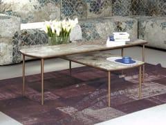 - Low rectangular MDF coffee table S-82/122 - MOMENTI di Bagnai Matteo
