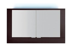 - Wall-mounted bathroom mirror with integrated lighting S5520-553040 | Mirror - INDA®