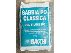 Sabbia di fiumeSABBIA PO - BACCHI
