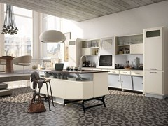 - Fitted wood kitchen SAINT LOUIS - COMPOSITION 05 - Marchi Cucine